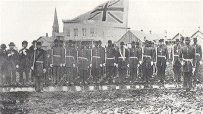 The Victoria Pioneer Rifle Company © public domain