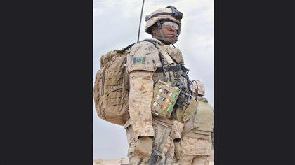 28 October 2010 Panjwa'i District, Afghanistan Major Austin Douglas, OC 1RCR B COY, ! Royal Canadian Regt. © Canadian Army