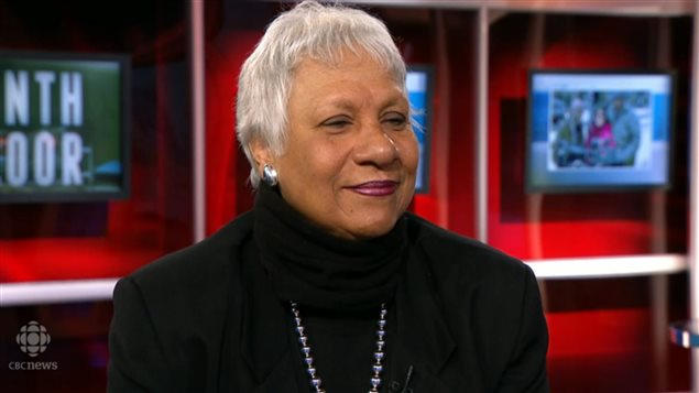 Senator Anne C Cools, social activist, advocate, and first black person in the Canadian Senate. first black women Senator in North America Photo Credit: CBC