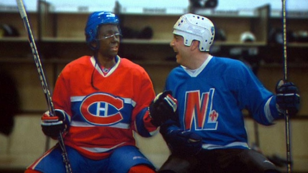 The controversy over blackface erupted again in 2014 when a Quebec actor painted his face to portray P.K. Subban in a year-end satirical play called Revue et Corrigée. (Radio-Canada)