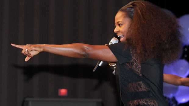 Jully Black will perform a series of free pop-up concerts in Calgary, Vancouver and Halifax in celebration of Black History Month. (Getty Images)