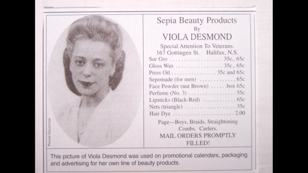 Viola Desmond was a beautician and businesswoman in Halifax in the mid-1940s. (Submitted by Wanda Robson)