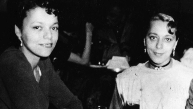 The legacy of Viola Desmond, right, who became a Canadian civil rights icon for her actions in Nova Scotia in 1946, has been kept alive over the decades by her sister Wanda, left. (Submitted by Wanda Robson)