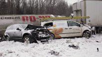 Selon les données du bilan routier, 20 % des victimes ne portaient pas de ceinture de sécurité. - Photo (archives): La Presse Canadienne