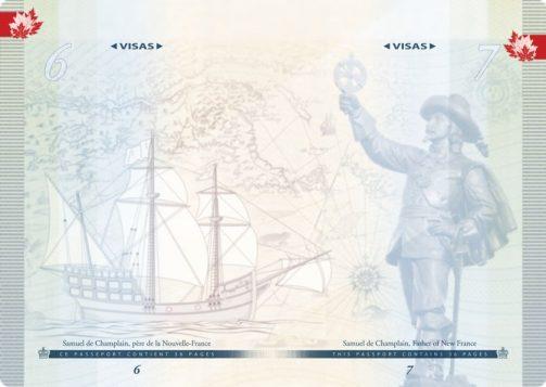 Explorer Samuel de Champlain is featured in the passport. (Photo: Passport Canada)