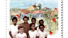 A 1958 photo of girls from an Africville bible class is featured on one of the two new stamps to celebrate February's Black History Month in Canada