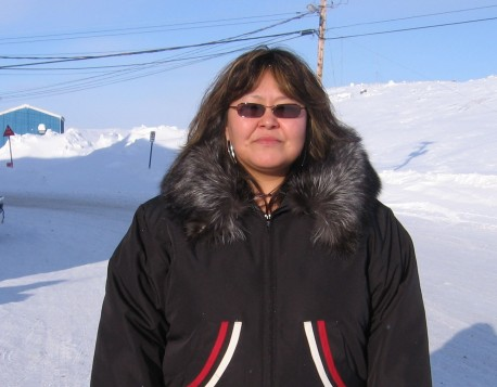 Tocasie Burke, Manager of Inuktitut Affairs, Government of Nunavut. (Courtesy Tocasie Burke)