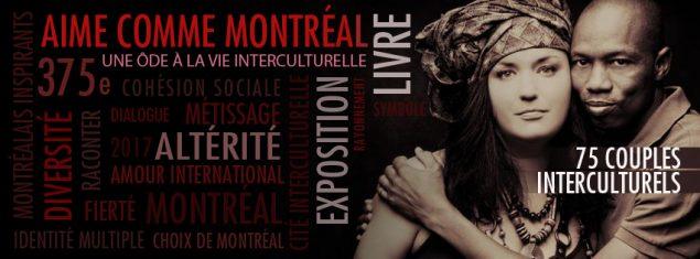 Visuel Aime comme Montréal
