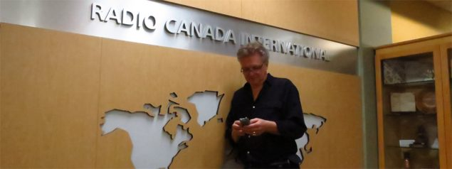 A quiet moment on my last official day at Radio Canada International after 35 years as an employee. Thank you for listening for all those years. Take care! http://twitter.com/wojtekgwiazda