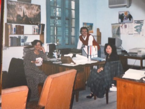 """By the time I arrived at RCI, budgets were already more limited than in the past,"" says Wojtek Gwiazda. ""But in 1995, I was fortunate enough to be sent to coordinate the recording of the Vietnamese version of RCI's English and French lessons. Had a great time with my colleagues from Radio Voice of Vietnam."""