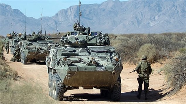 Military Vehicles For Sale Canada >> Canada to proceed with multi-billion arms sale to Saudi Arabia