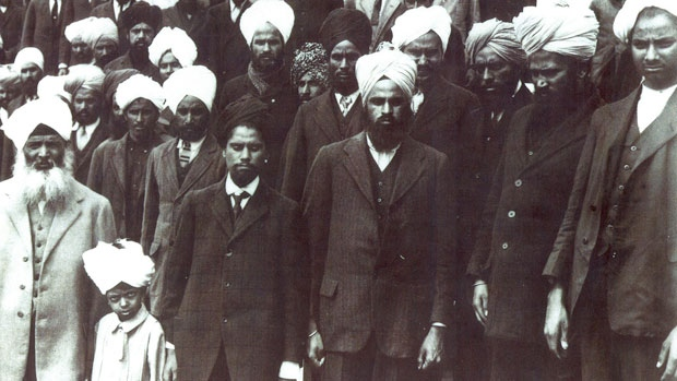 Only 20 passengers of the Komagata Maru steamship were allowed to disembark by Canadian authorities in 1914.