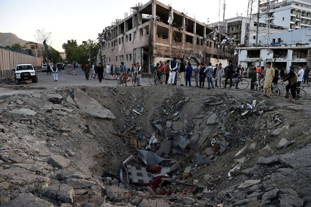 Afghan capital mourns victims of truck bomb blast as anger swirls