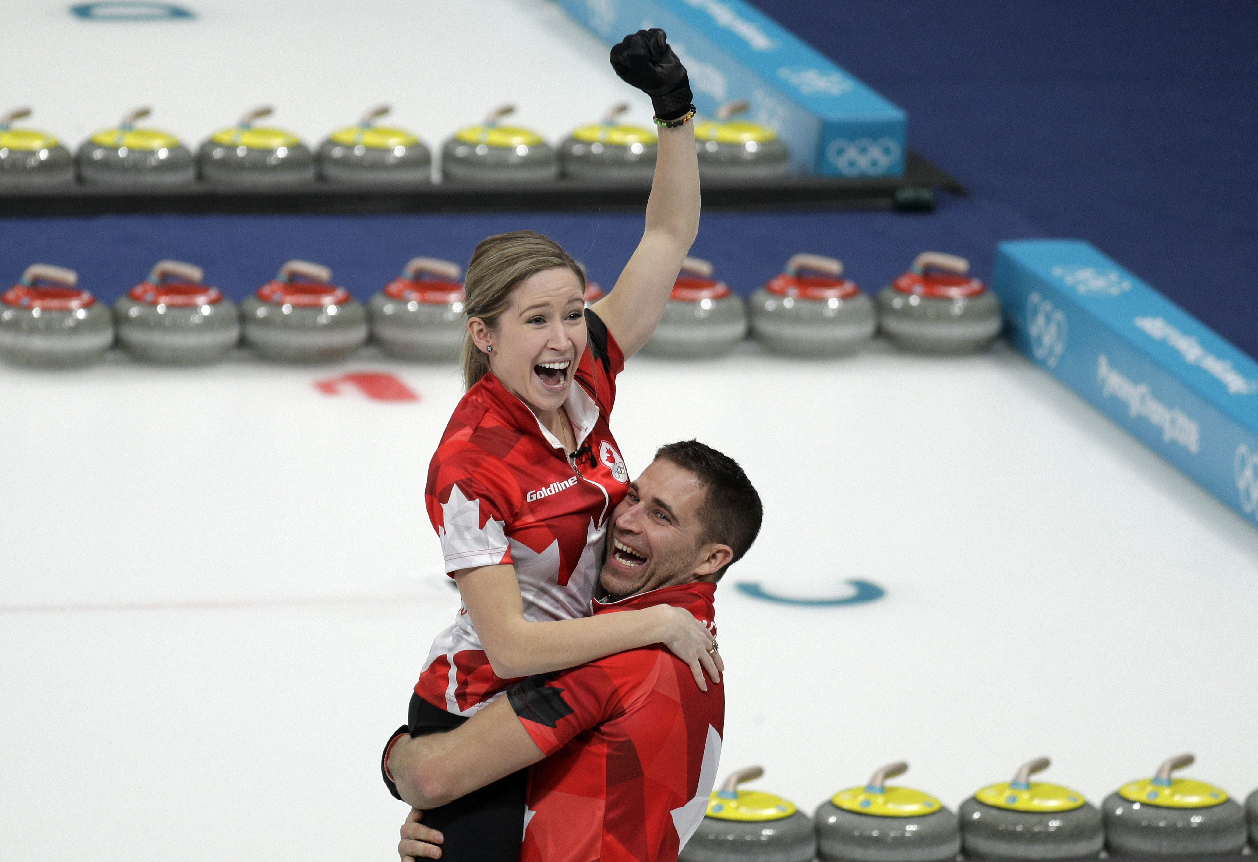 Canada wins gold in mixed doubles curling, bronze in women ...