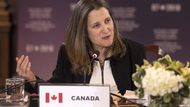 Freeland to address OIC meeting in Bangladesh on Rohingya crisis