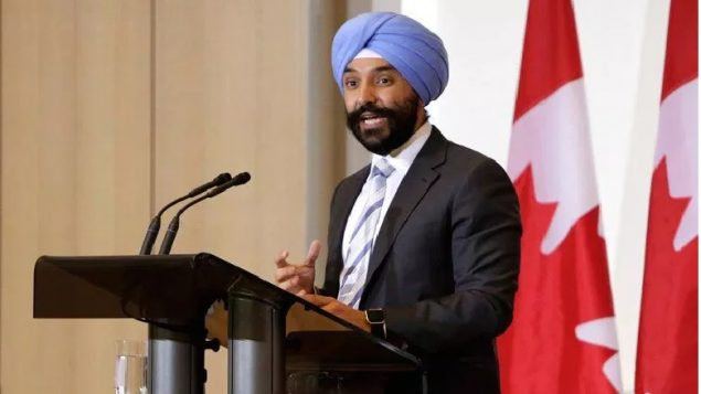 Federal Minister of innovation, Navdeep Bains released a brief statement saying a state-owned Chinese company would not be allowed to buy Canadian construction giant Aecon
