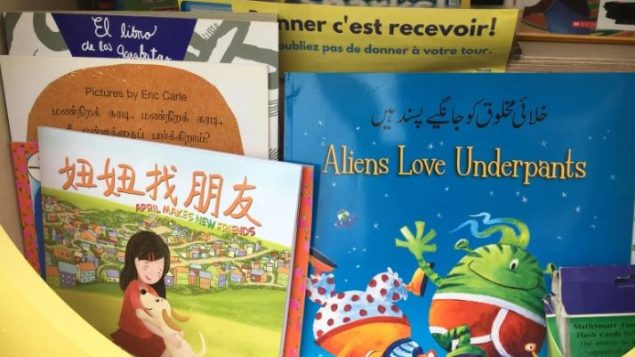 Multi Lingual Book Exchange For Children In Montreal