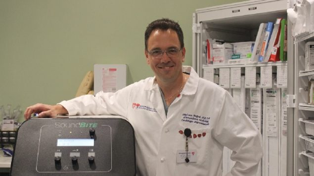 Dr. Stéphane Rinfret (MD.SM), chief of Interventional Cardiology at the MUHC