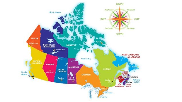 Show Map Of Canada With Its Provinces.Canada A Confederation Not Quite So Unified
