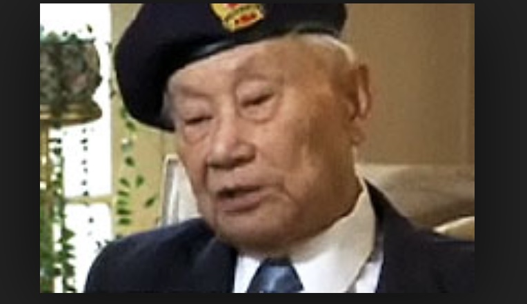 William Chong from a video interview about his experience  (via Veterans Affairs)