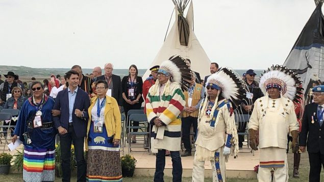 Prime Minister Justin Trudeau exonerates Chief Poundmaker, apologizes for conviction