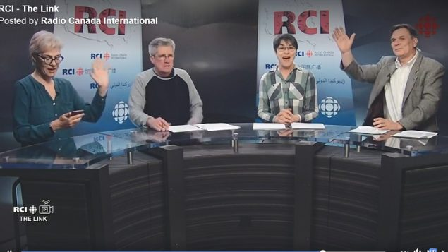L-R: Link team Marie-Claude, Terry, Lynn, Marc