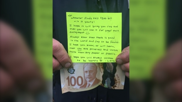 An anonymous gift sparks a lot of love in Nova Scotia town