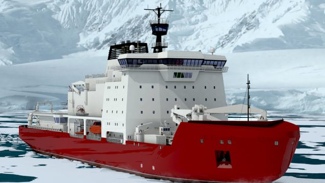 Canada to build two polar icebreakers for High Arctic operations