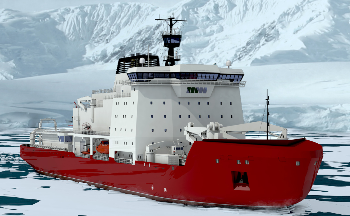 Canada to build two polar icebreakers for High Arctic operations – RCI |  English