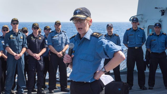 Canadian woman makes NATO maritime history