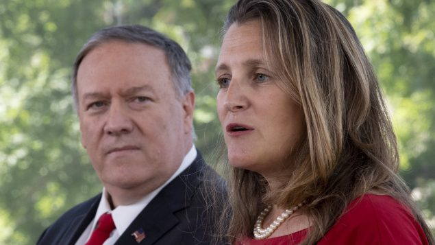 U.S. is working 'diligently' to secure release of detained Canadians: Pompeo