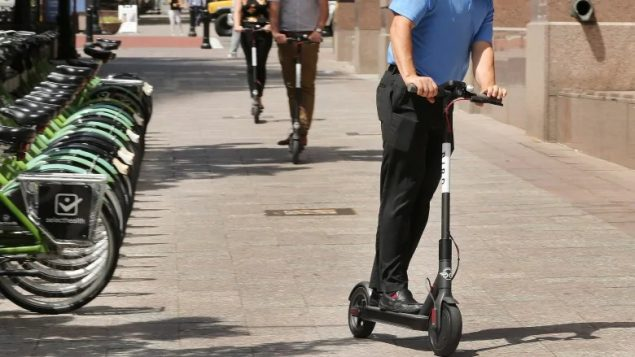Electric scooters coming to Canada
