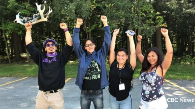 Young leaders from Nunavik bring their stories of hope, loss to youth forum