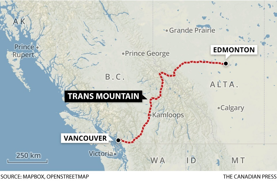 Canada's Trans Mountain Pipeline wins in court