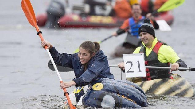 Squashed: Windsor's annual pumpkin regatta
