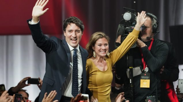 Justin Trudeau's Liberals win, but with a minority
