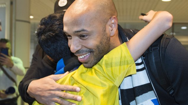 Former superstar Thierry Henry arrives in Montreal to coach MLS Impact