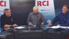 Host L-R: Terry Haig, Levon Sevunts, Marc Montgomery