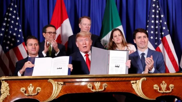 New North American trade deal launches amid tariff threats