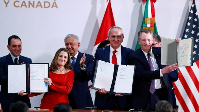 Canada, the U.S. and Mexico sign 'infinitely better' revised free trade deal