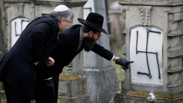 75 years after horrors of the Holocaust, anti-Semitism continues