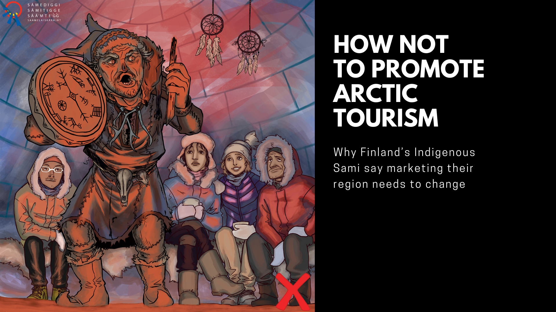 How not to promote arctic tourism