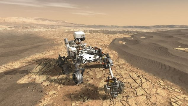 Canadian scientist chosen to work on Mars geological mission