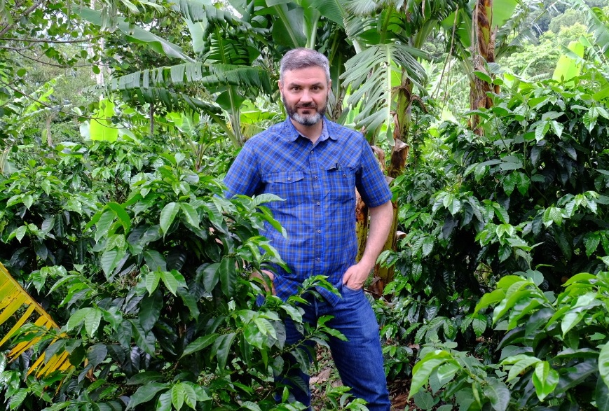 Professor and author the Finca Sol Naciente in Dota, Costa Rica. (supplied)