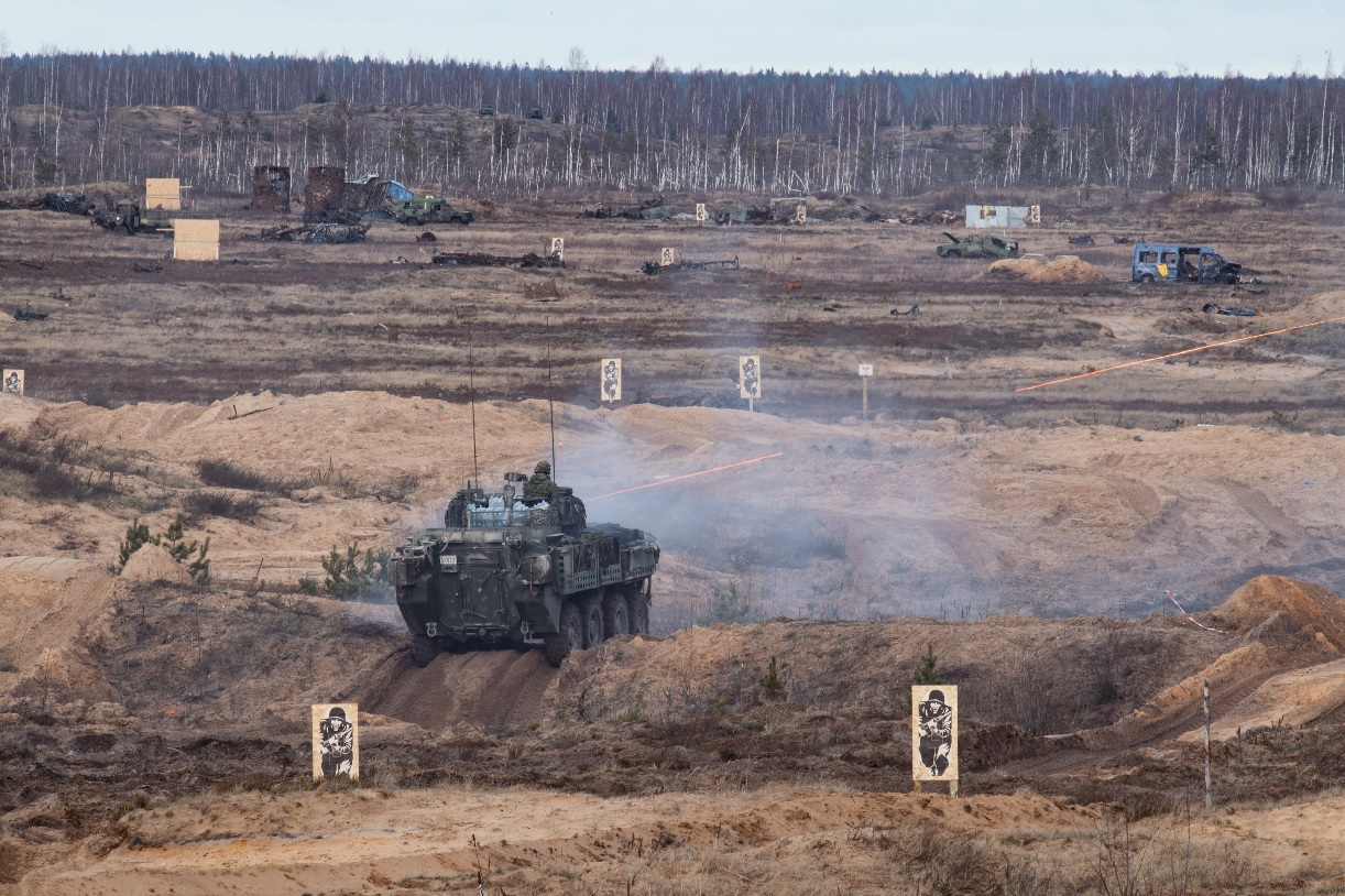 Canadian NATO soldiers in Latvia NATO targeted by misinformation campaign