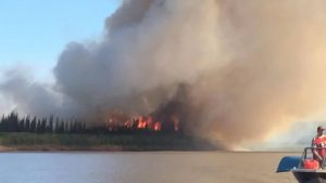 'Zombie fires' threaten an early fire season across the Arctic