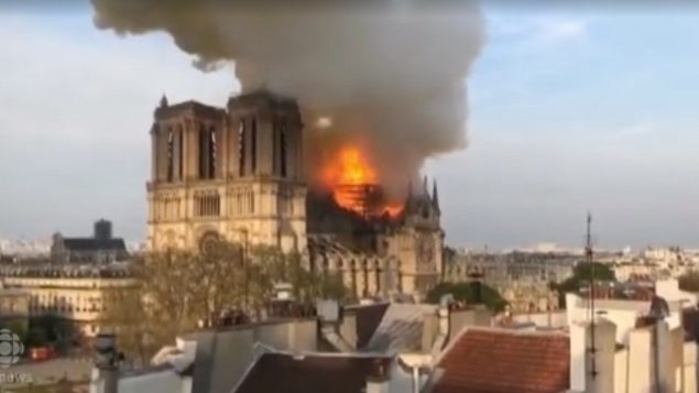 Notre Dame Cathedral to be re-built as it was; Canada offers materials