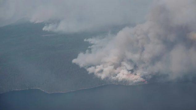Forest fires rage in Quebec, below average in B.C.