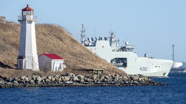 The Royal Canadian Navy's sixth Arctic patrol vessel