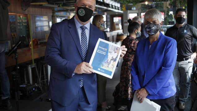 B.C. lays out details of its pandemic economic recovery plan